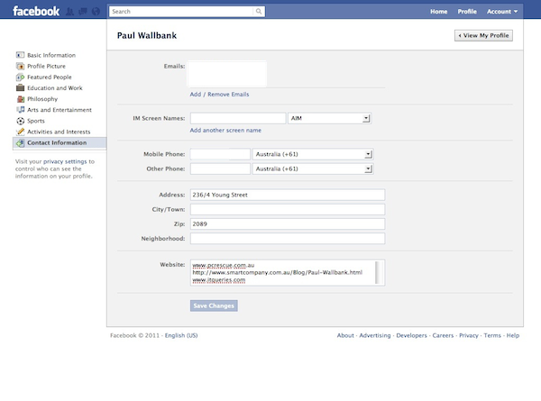 how to change date of birth in facebook profile